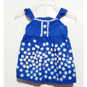 Other - blue flower dress with bloomers
